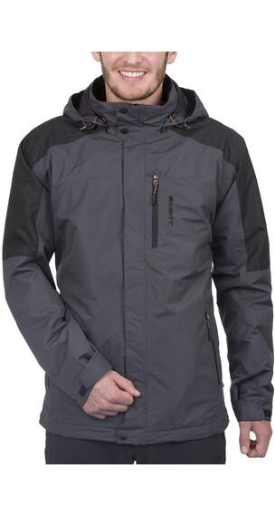 Axant Pro Outdoor 3in1 dubbele jas Heren grijs/zwart
